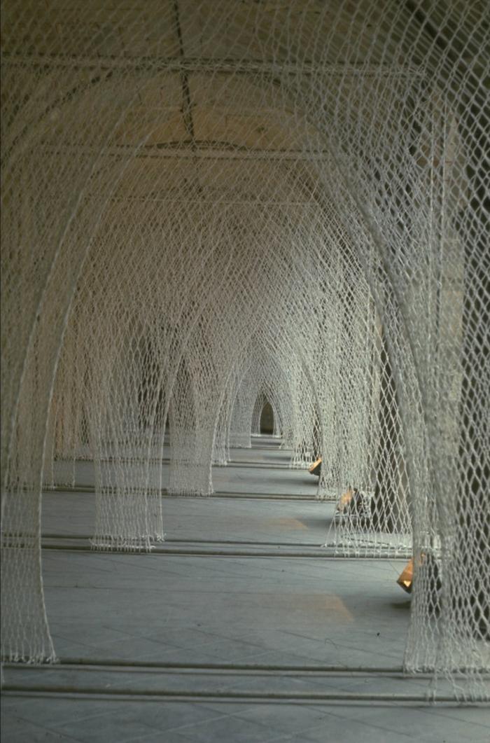 Künstlerin Toshiko Horiuchi Mac Adam kunstwerke aus strickwaren