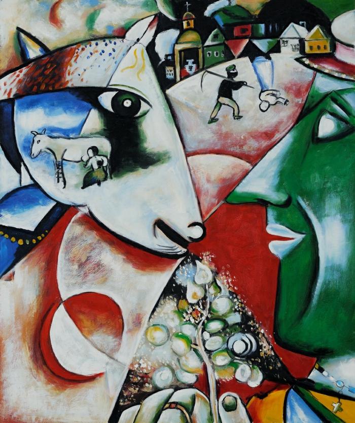 Marc Chagall Werke- Sinnbilder eines Lebens