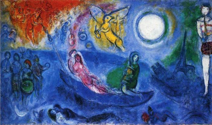 Bildergebnis für chagall werke