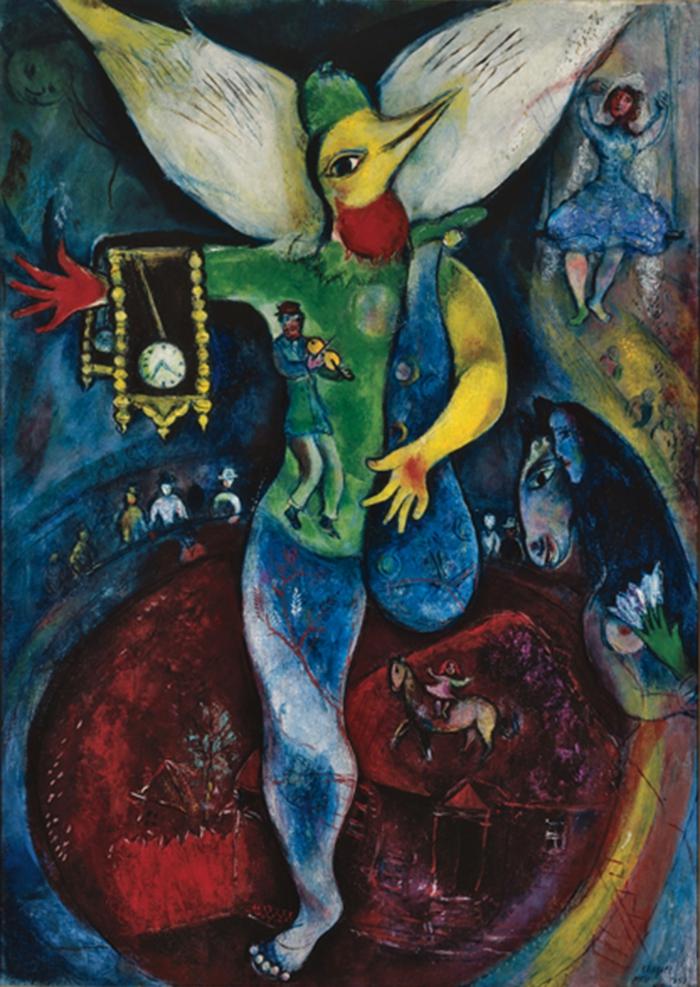 marc chagall werke sinnbilder eines lebens. Black Bedroom Furniture Sets. Home Design Ideas