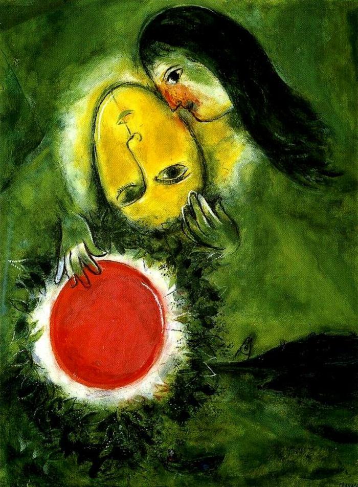 Marc Chagall Werke Sinnbilder eines Lebens