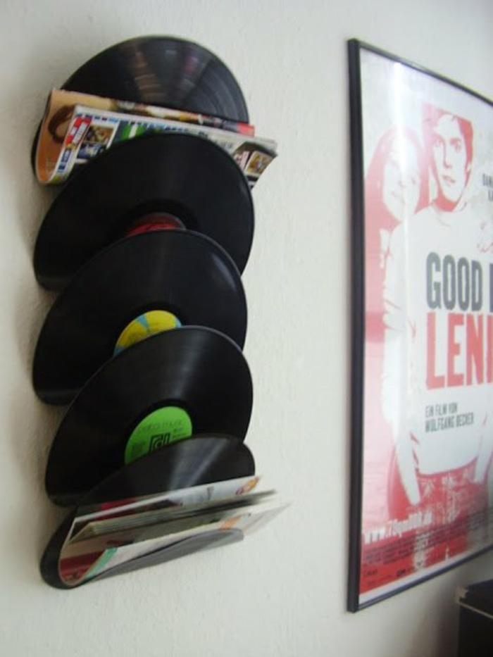 Kreative Bastelideen Mit Schallplatten Die Leicht Zu Realisieren Sind