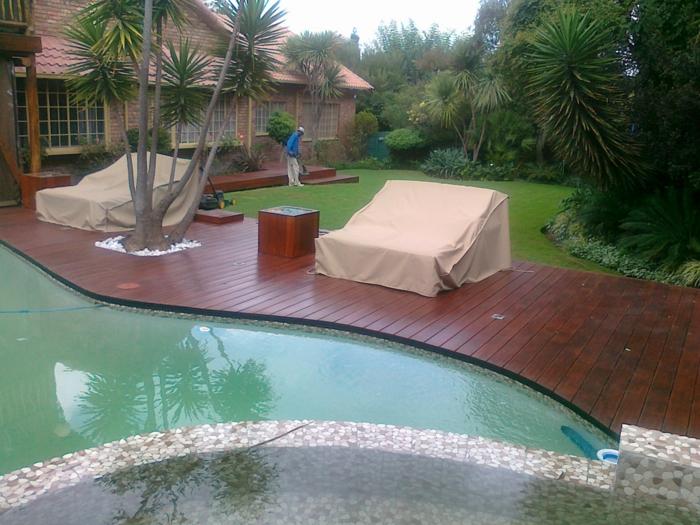 Schutzhülle für Gartenmöbel schwimmbecken