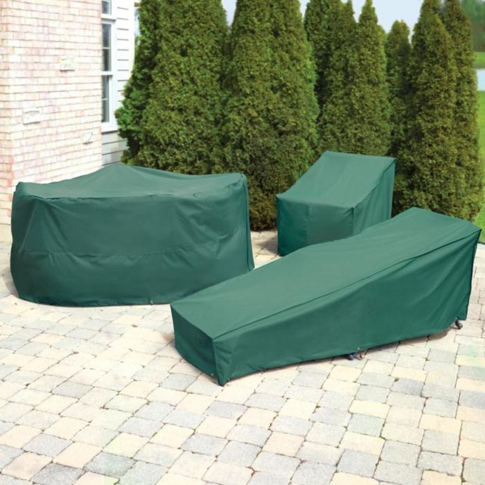 Schutzhülle für Gartenmöbel tscih grün