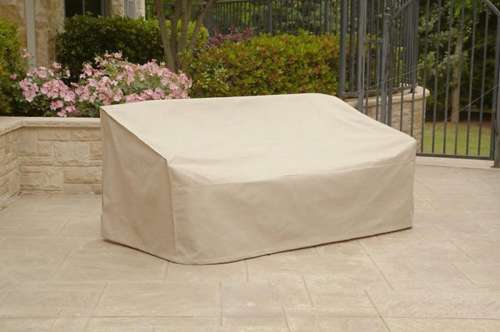 Schutzhülle für Gartenmöbel tscih sitzbank