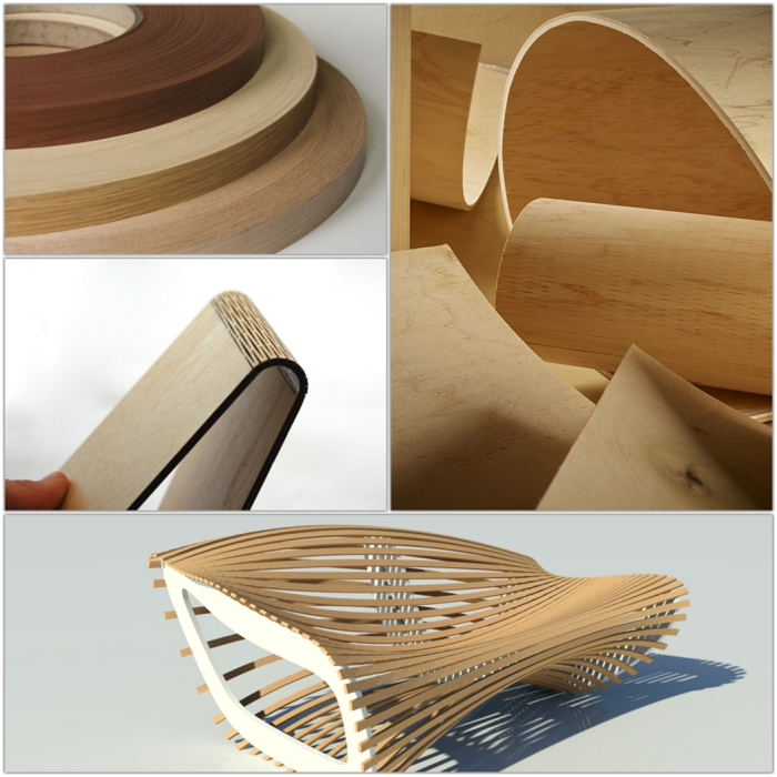 Sperrholz platten biegsam innovative