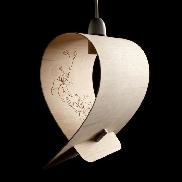 Sperrholz platten biegsam leuchtobjekt