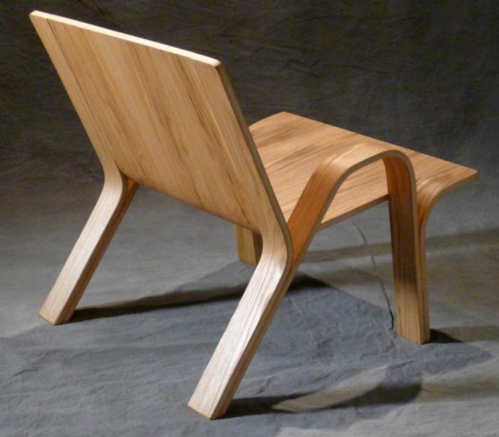 Sperrholz platten designer stuhl