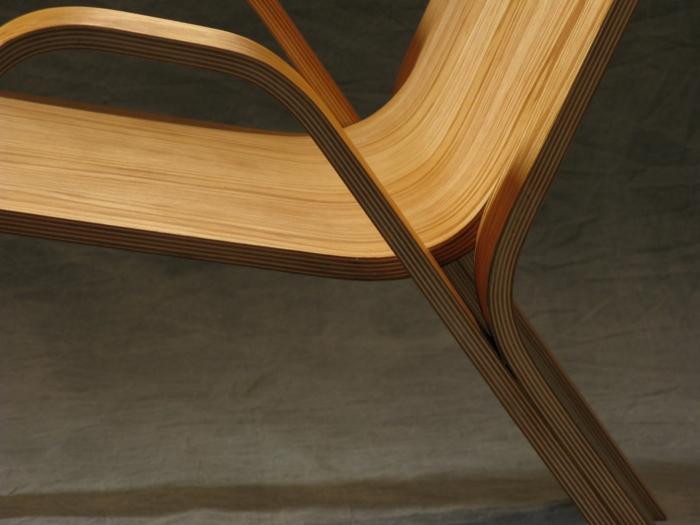 Sperrholz platten stuhl design designer moebel