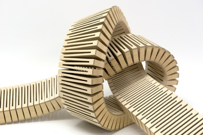 Sperrholz platten stuhl design produkt form