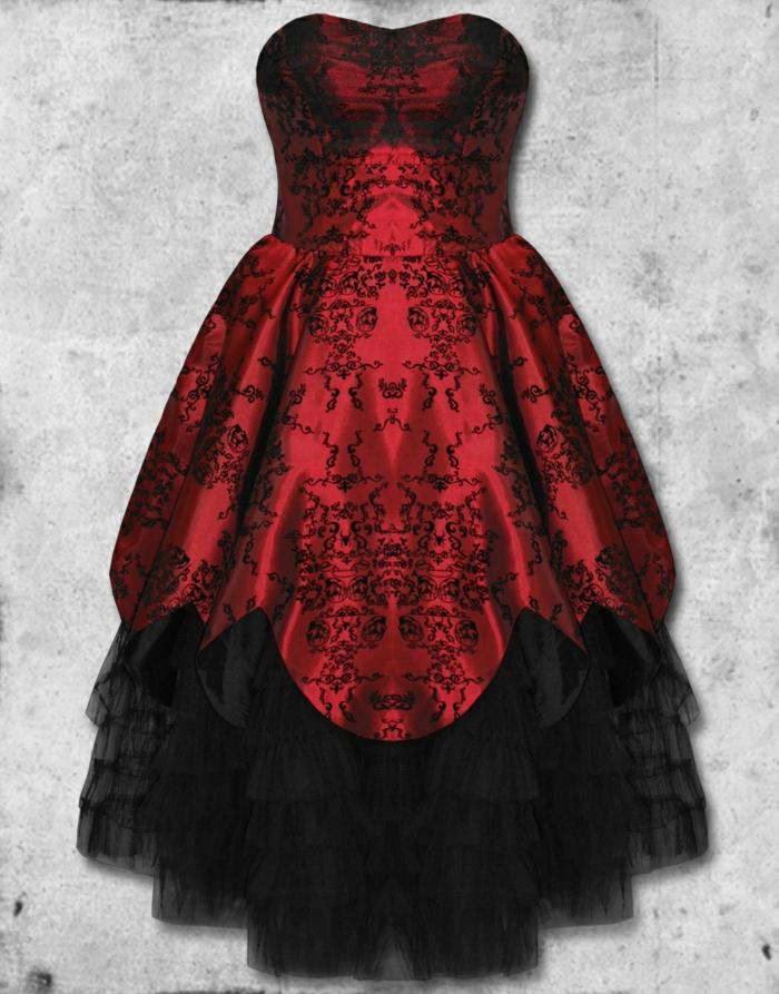Steampunk Kleid klein allen titel