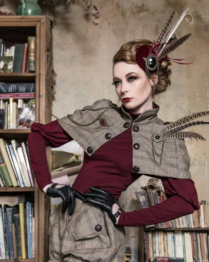 Steampunk Kleid sherlock