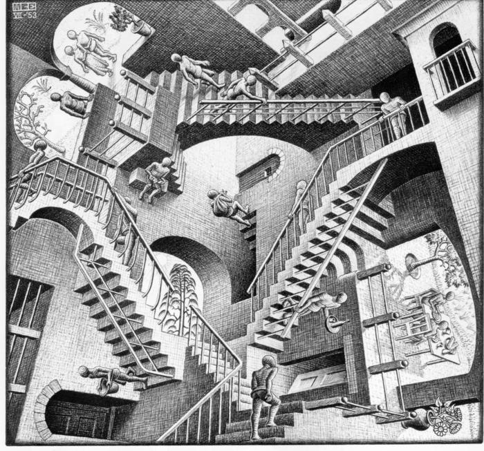 Traumdeutung M C Escher grafik design