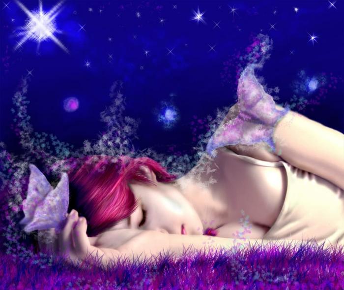 Traumdeutung träumende frau