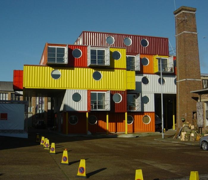 Wohnideen Container traumhaus das keine finanzielle bombe im budget ist