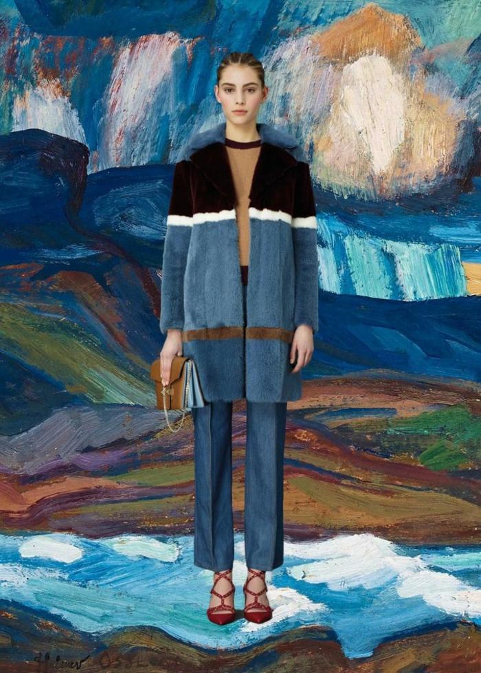 Valentino Kleider blau