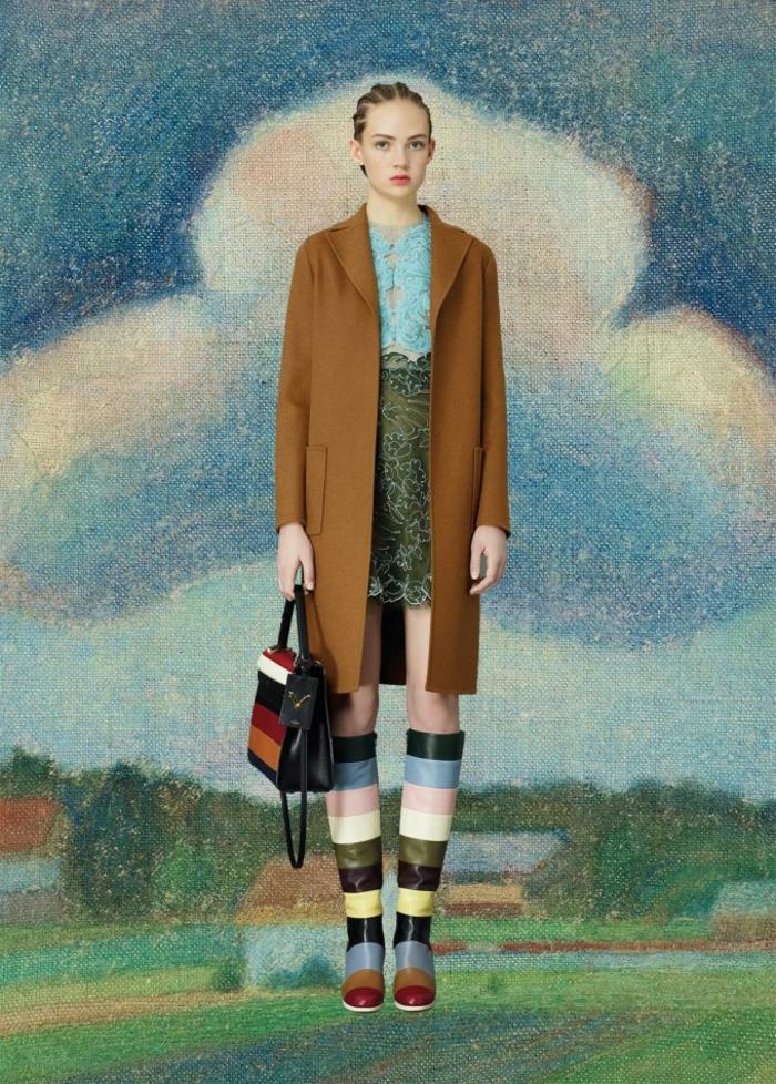 Valentino Kleider braun