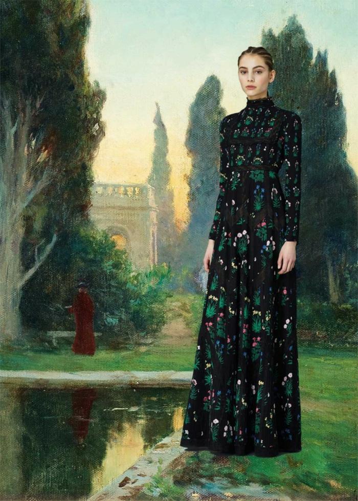Valentino Kleider dunkel