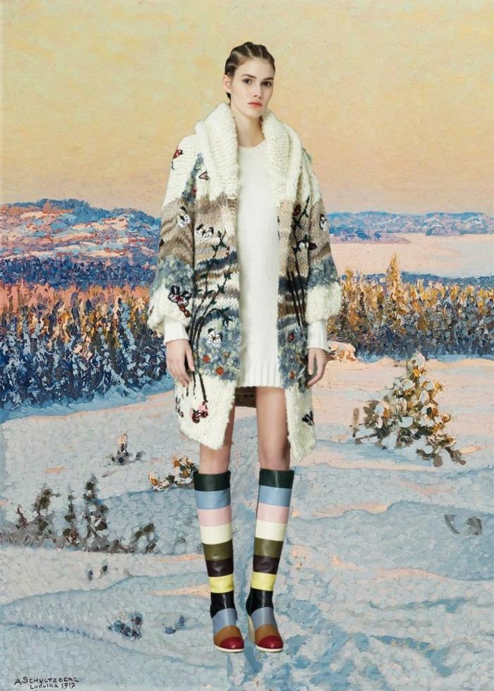 Valentino Kleider winter