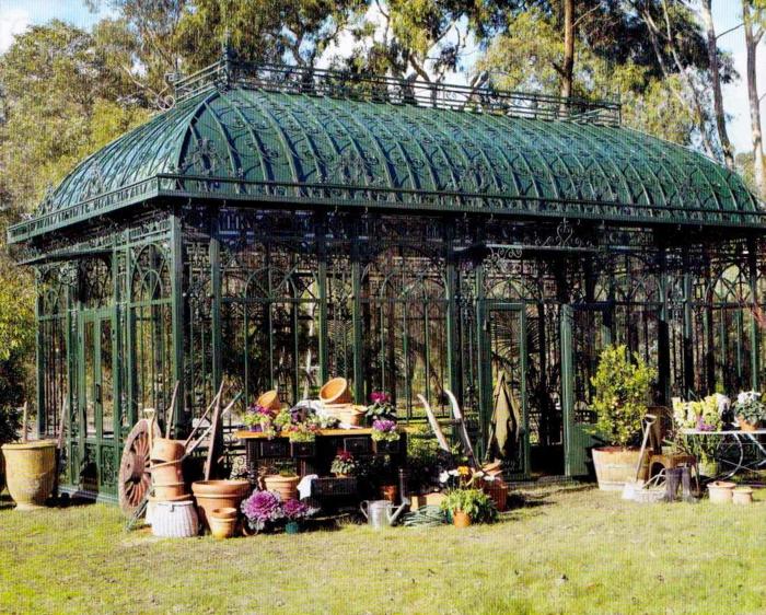 Wintergarten einrichten hofgarten