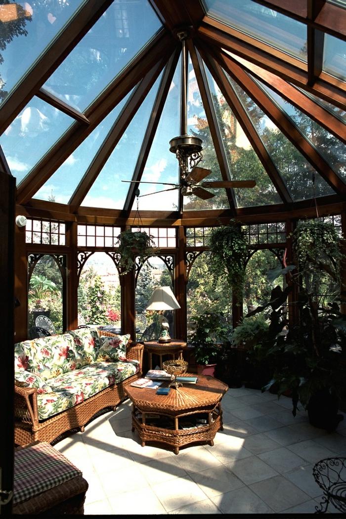 Wintergarten einrichten pavillon