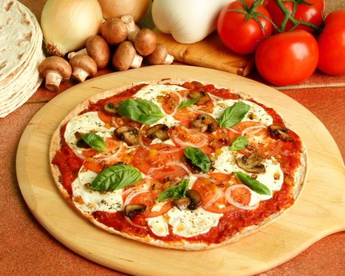 abnehmen ohne sport und diät hausgemachte vegetarische pizza