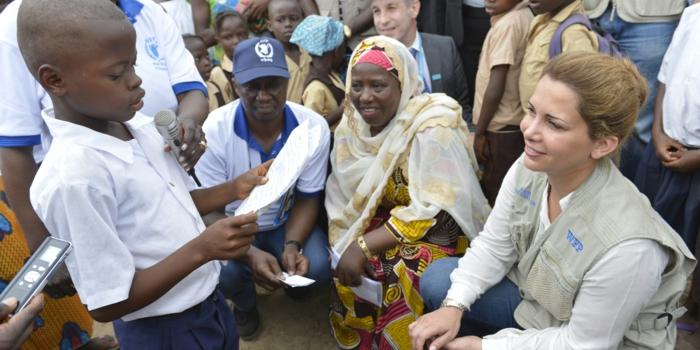arabische frauen Haya bint al Hussein un friedensbote Liberia