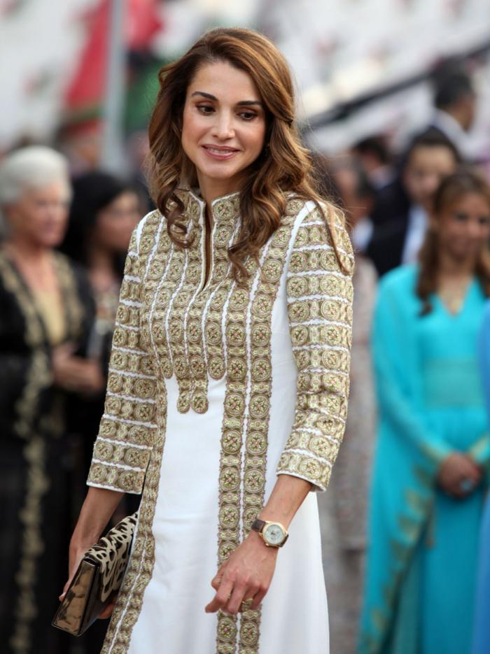 arabische frauen königin rania mode