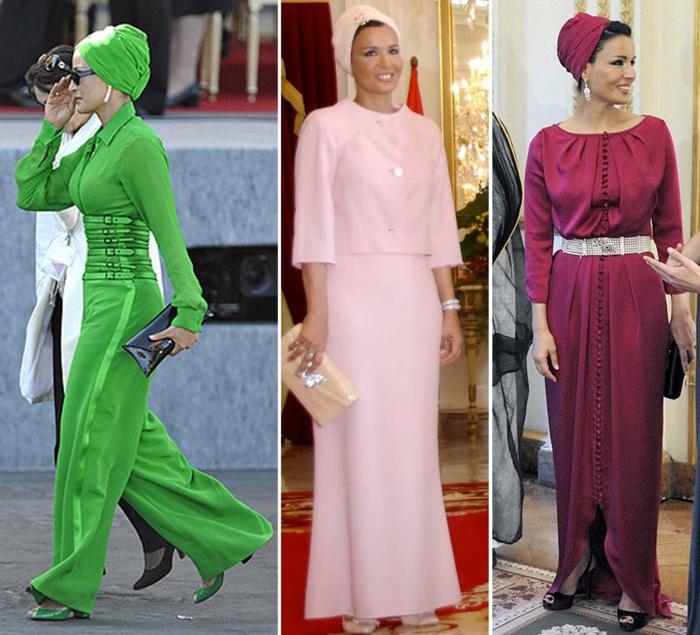 arabische frauen scheicha musa extravagamte kleidung
