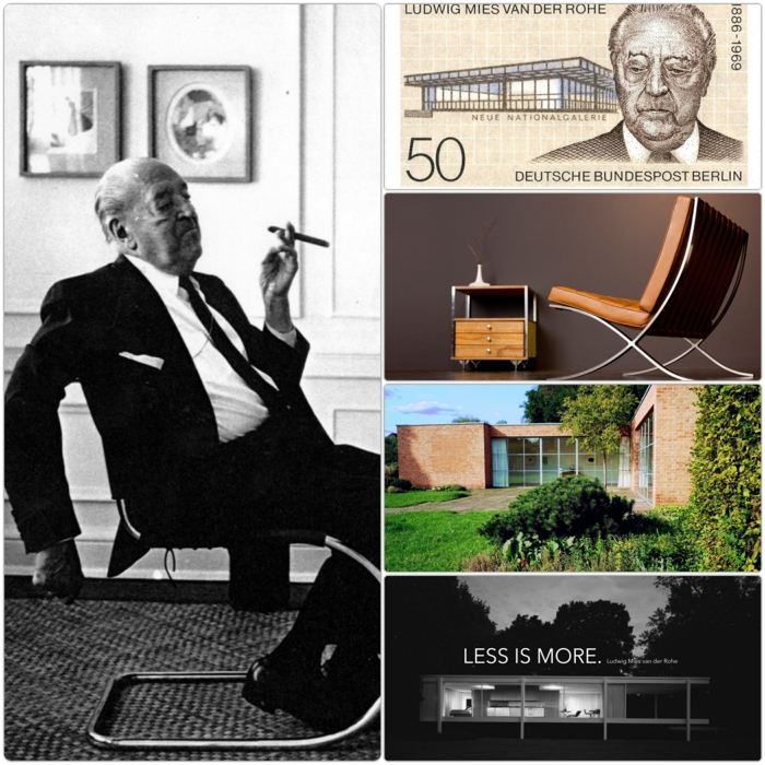 architekt Ludwig Mies van der Rohe