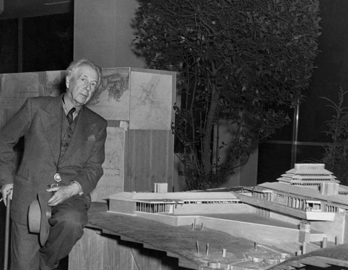 architekten Frank Lloyd Wright