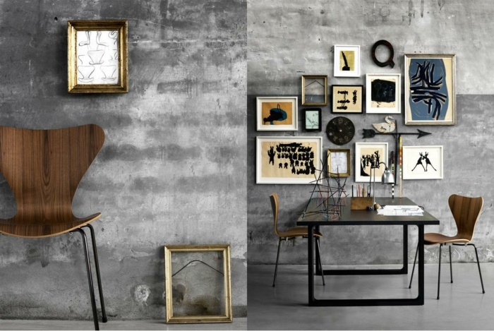 Arne Jacobsen Stuhl Design Klassiker Serie Sieben