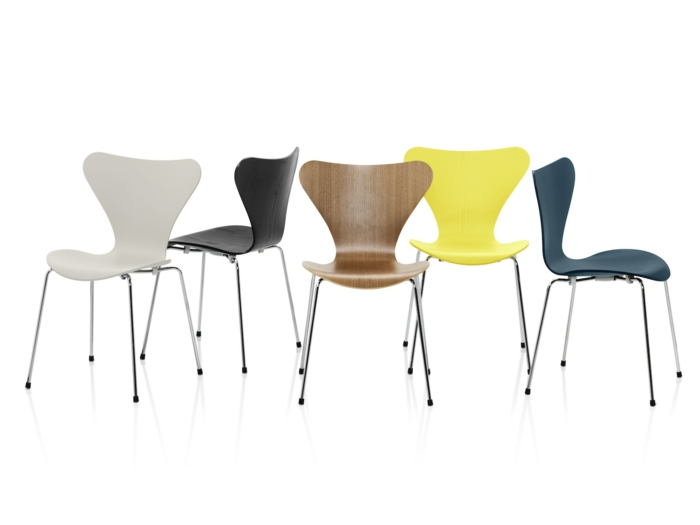 Arne jacobsen stuhl der serie 7 neu interpretiert for Design stuhl klassiker
