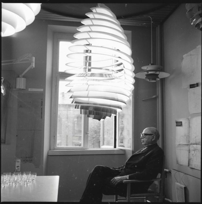 ausgefallene lampen Paul Henningsen modelle erfindungen