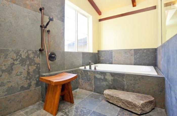 badeinrichtung japanisches design marmorfliesen