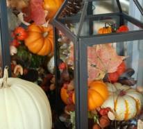 Bastelideen für Herbst und originelle Dekoideen für eine heitere Stimmung