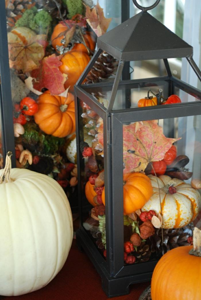 Bastelideen Herbst und originelle Dekoideen für eine
