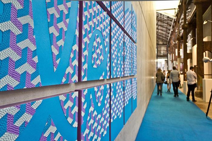 basteln mit papierstreifen interessanrte kunst projekte details
