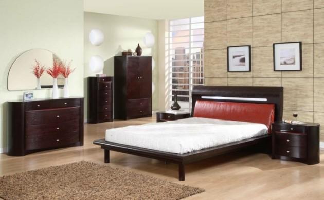 betten-design-beiger-teppich-schlafzimmer-deko