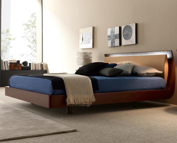 betten design schlafzimmer einrichtung teppichboden teppich bücher
