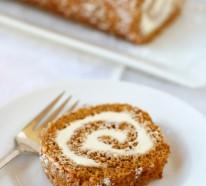 Ein herbstliches Rezept für leckeren Kürbis-Gewürz Blechkuchen