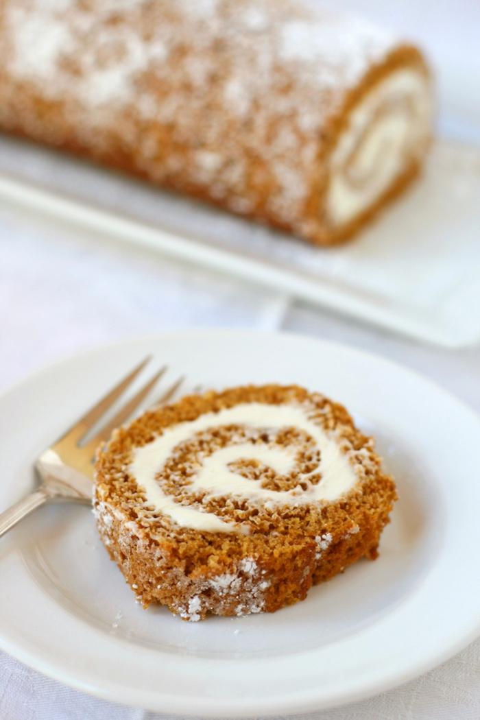 blechkuchen kürbis rollo form