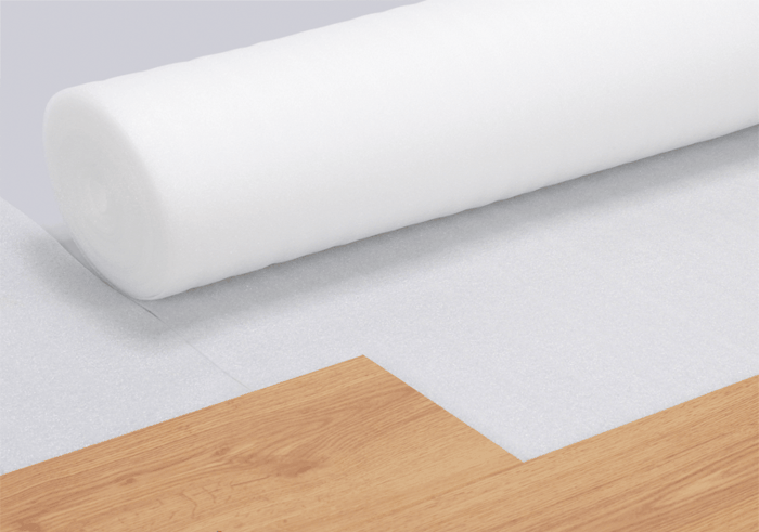 bodenbelag laminatboden verlegen mit trittschall dämmung