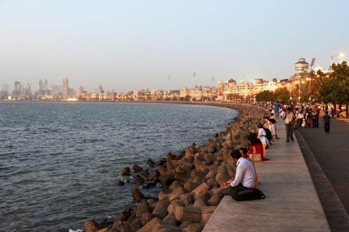 bombay indien mumbai promenade