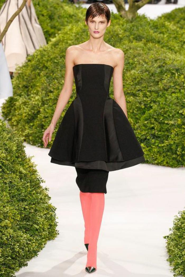 bunte strumpfhosen elegantes kleid