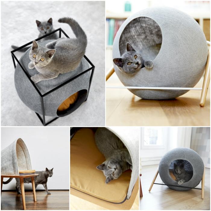 Wohnaccessoires design  Katzenmöbel von Meyou sind zugleich schicke Wohnaccessoires