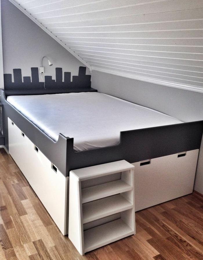 designer betten komfortables bett dachzimmer bett