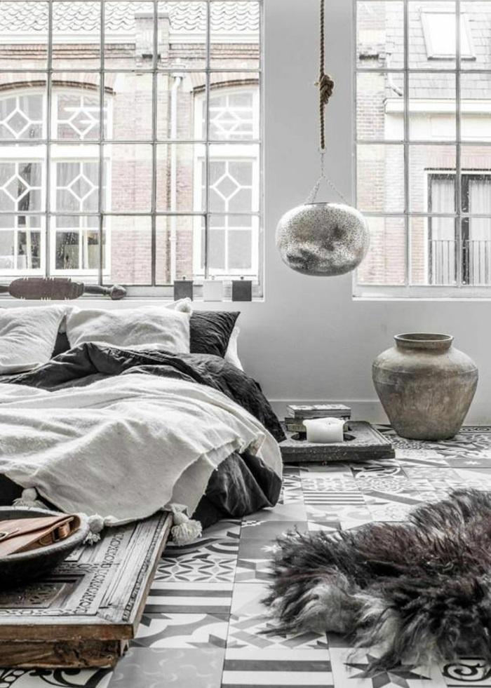 design betten komfortables bett schlafzimmer im skandinavischen stil