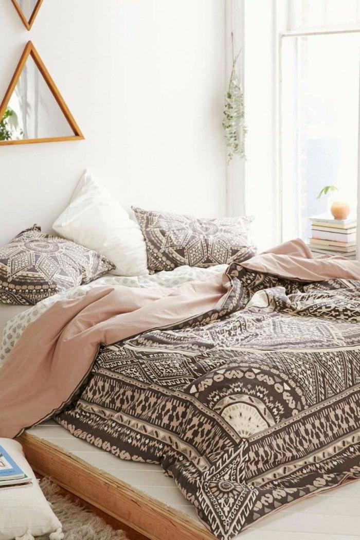 design betten komfortables bett schlafzimmer orientalische akzente