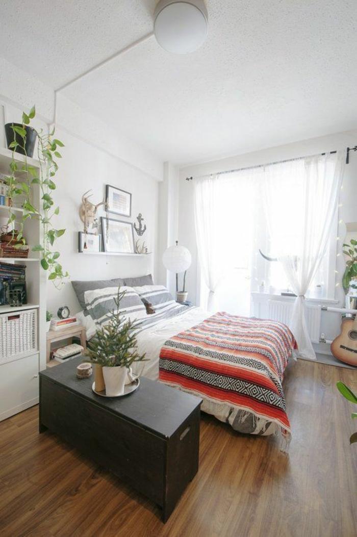 designer-betten-komfortables-bett-schlafzimmer-rustikale-akzente1, Hause deko